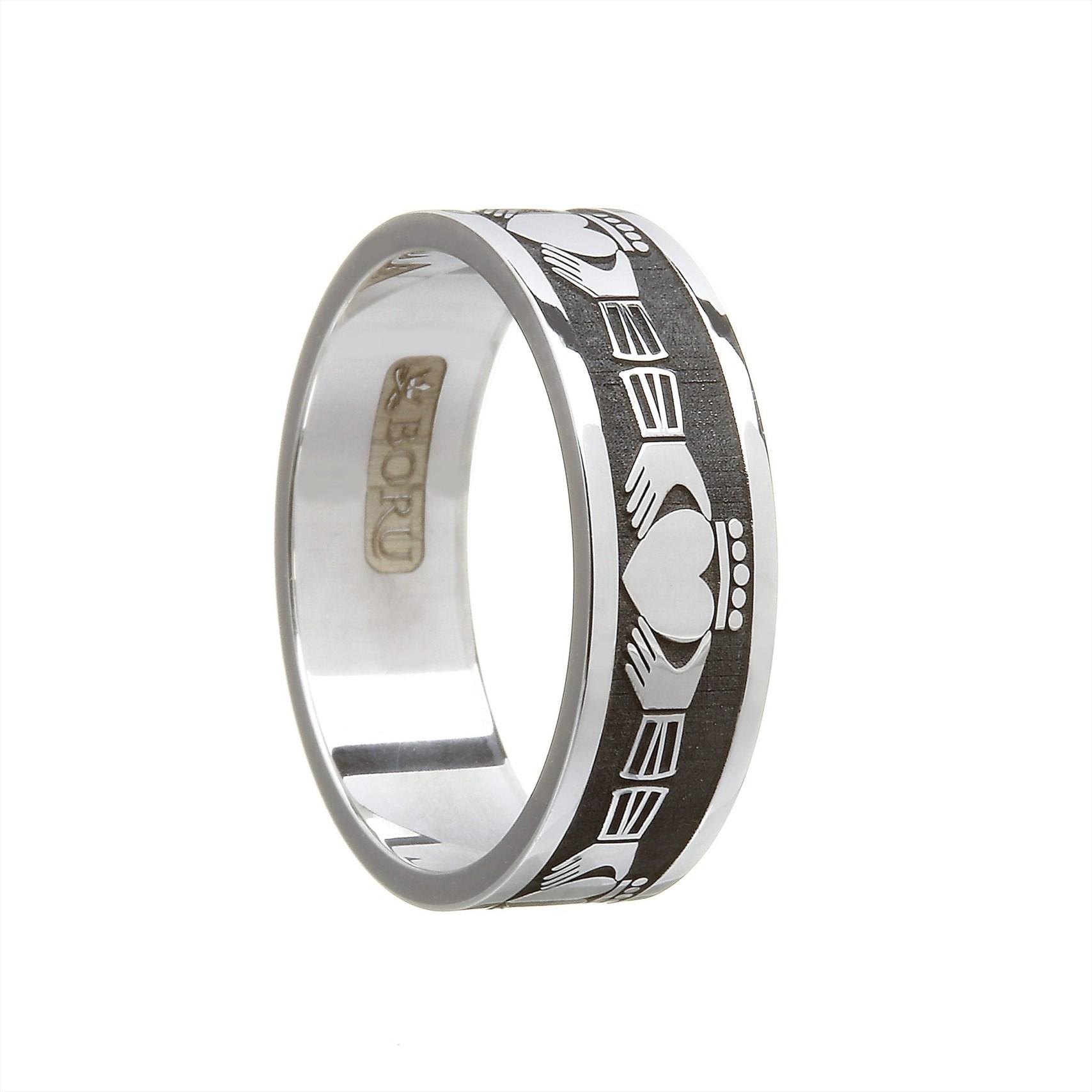 c71d1f43174 Claddagh Wedding Band Gents - The Celtic Shop